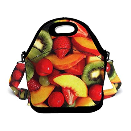 548c8eb65835 Amazon.com - OKAYDECOR Fresh Fruits and Vegetables Insulated ...