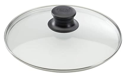 Elo 64117 - Tapa de cristal para ollas (16 cm, acero ...