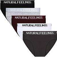 Natural Feelings Slip Calzoncillos de Hombre Cómoda y Ultra Suave Algodón Elástic Slip Hombre