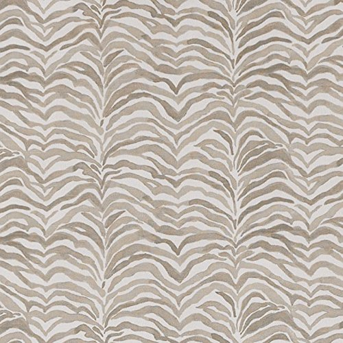 Serengeti Bisque Gray Animal Print Tailored Euro Sham, Lined Cotton by Close to Custom Linens (Image #4)