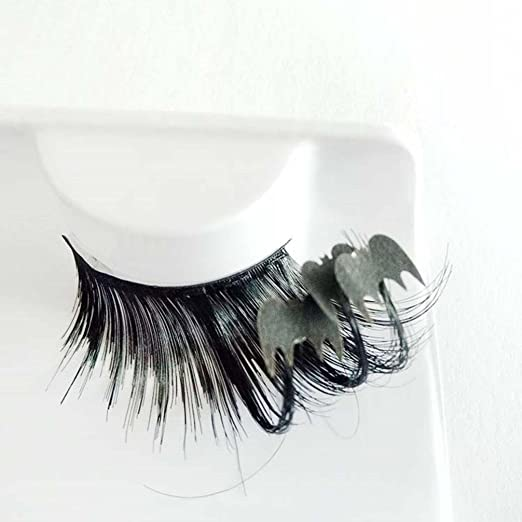 b07e7f38f80 Yukong fake lash,1 pairs Makeup Art Black Bats False Eyelashes for  Halloween Party: Amazon.co.uk: Beauty