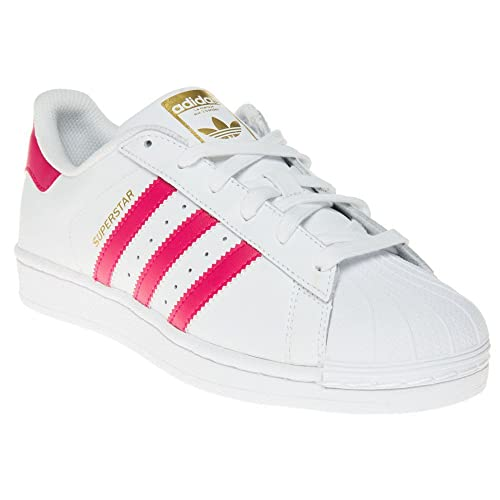 Adidas Superstar Foundation Niña Zapatillas Blanco: Amazon.es: Zapatos y complementos