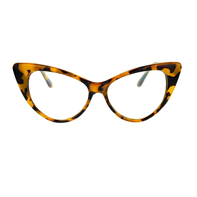1950s Sunglasses & Eyeglasses Frames Classic Retro Cat Eye Optical Glasses $7.50 AT vintagedancer.com