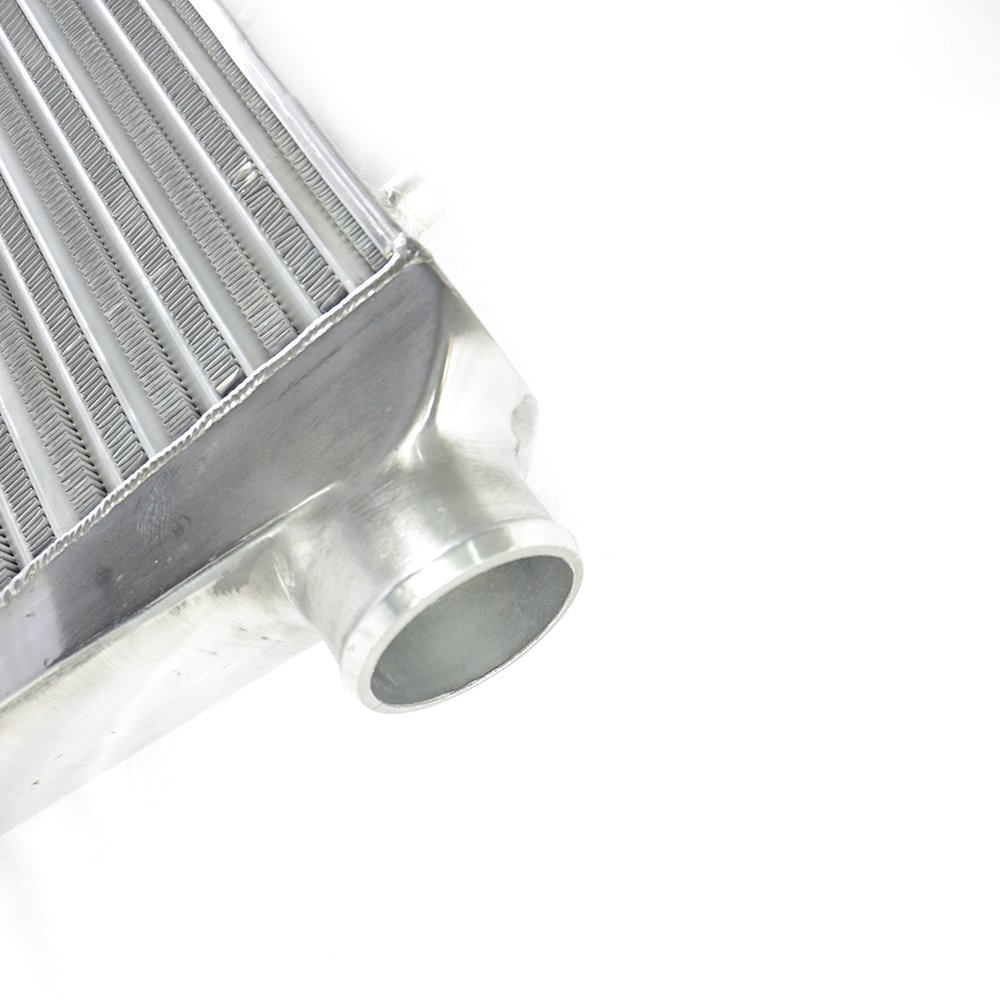 SUNROAD Universal Frount Mount Aluminum Intercooler 24 x 12 x 3 Thick Core /& Inlet /& Outlet Size 3
