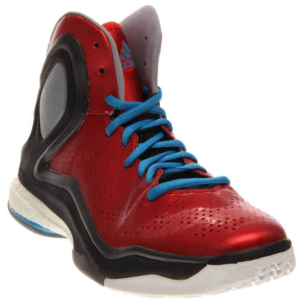 premium selection 8a226 90e17 Galleon - Adidas Performance D Rose 5 Boost J Kids Basketball Shoe (Big Kid),  ScarletSolar Blue, 5.5 M US Big Kid