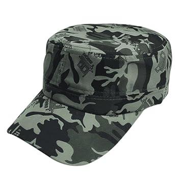 Botrong Men Women Camouflage Outdoor Climbing Baseball Cap Hip Hop Dance Hat Cap