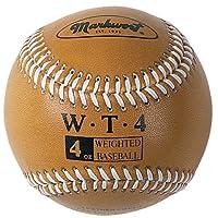 Funda de cuero para pelotas de béisbol de 9 pulgadas Markwort (en caja individual), dorado