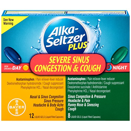 Alka seltzer Severe Sinus Congestion Liquid product image