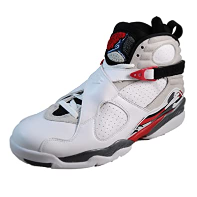 newest ceed8 2aa51 Nike Mens Air Jordan 8 Retro Bugs Bunny Leather Basketball Shoes