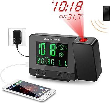 Amazon.com: SMARTRO - Reloj despertador digital de ...