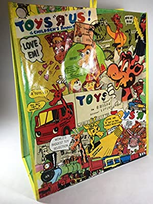 Toys R Us Nostalgic Vintage Advertising Reusable Grocery Bag
