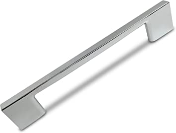 8.75 Inch Screw Spacing Southern Hills Polished Chrome Cabinet Handles ...