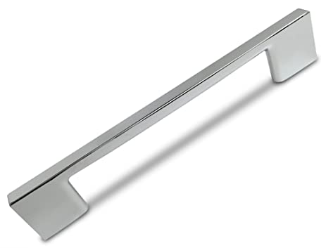 Southern Hills Polished Chrome Cabinet Handles, 5.1 Inches Total ...