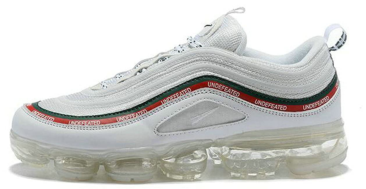 282da1ebf72 Undefeated X Air Vapormax 97 White Mens Womens Running Shoes  Amazon.co.uk   Shoes   Bags