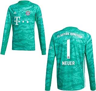 Adidas - Camiseta de portero del FC Bayern para niños: Amazon.es: Deportes y aire libre