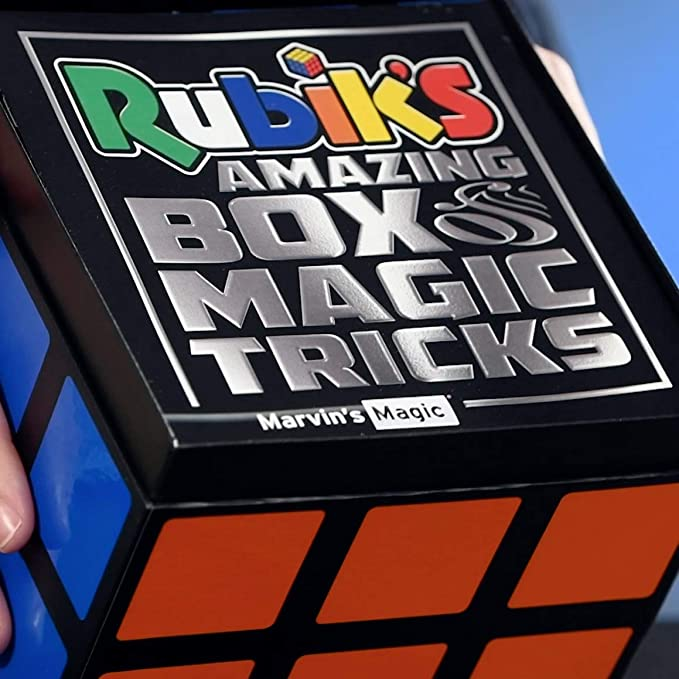 Marvin/'s Magic Rubik/'s Amazing Box of Magic Tricks Release 09//20 Pre-Order Now