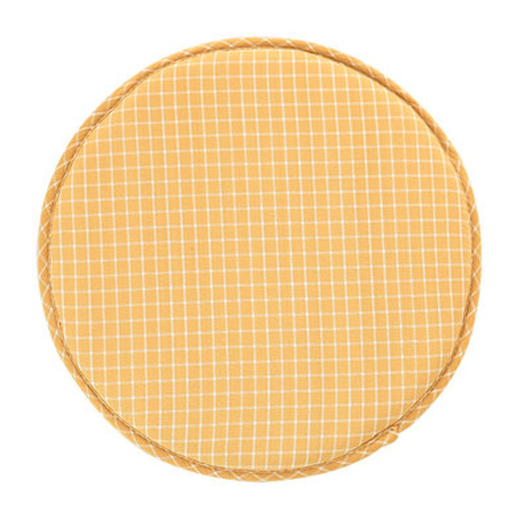YOOKOON Fabric Chair Seat Student Thickened Round Pad Bar Stool Mat (color4)