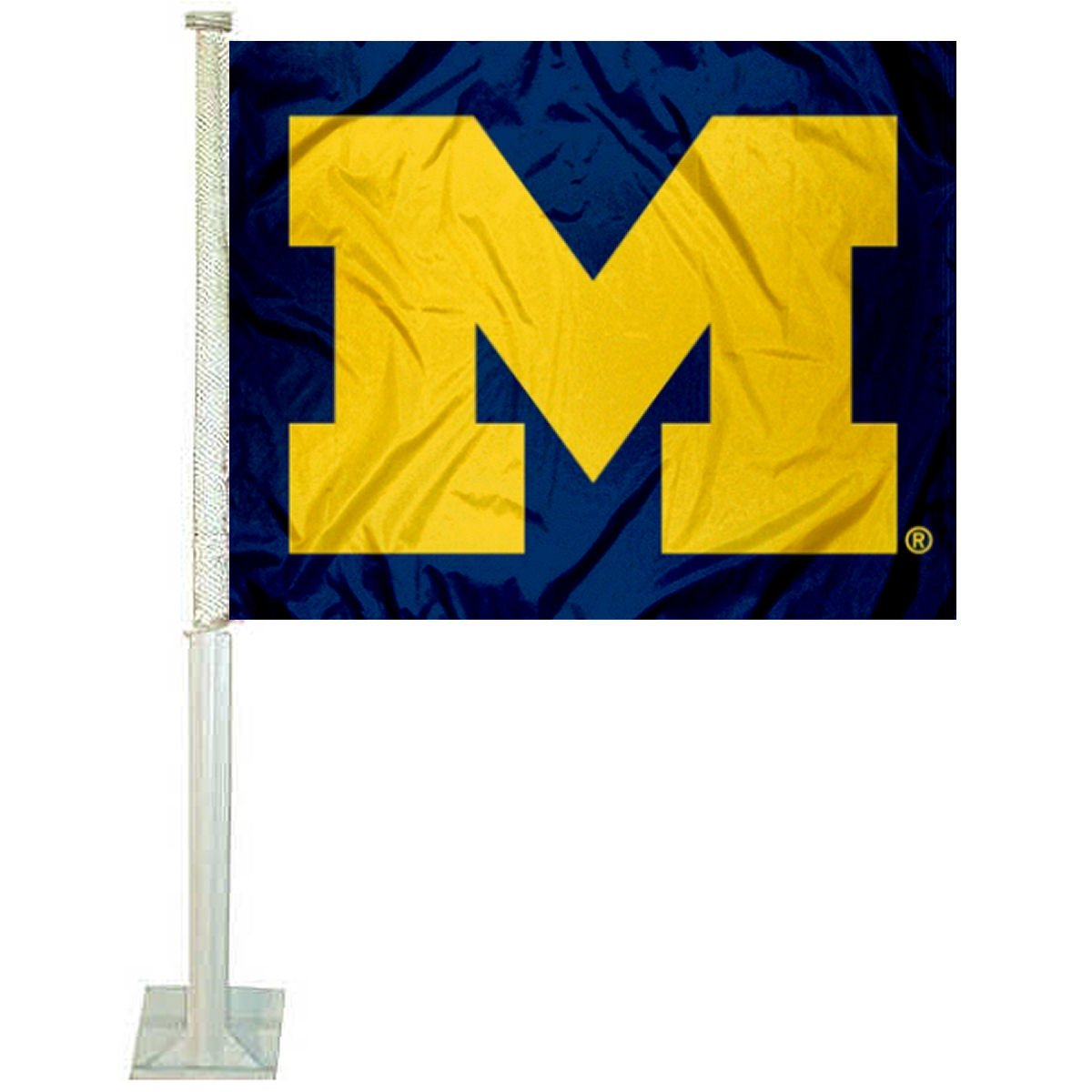 Michigan Wolverines Car and NCAA Auto Flag College Flags and Banners Co.