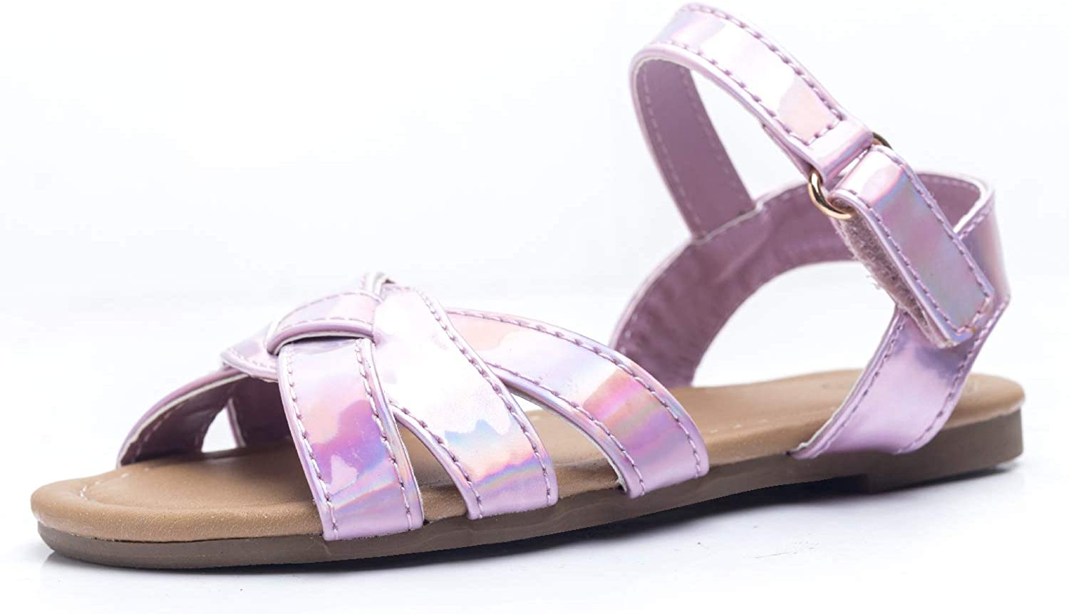 FITORY Girls Sandals, Flat Toddler
