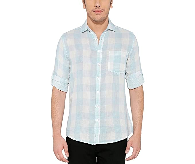8c185d3070d94 nickamp jess Camisa casual Manga Larga para hombre QrGeUy ...