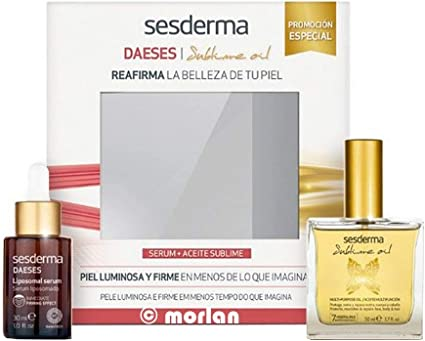 Sesderma PACK Daeses Serum Liposomado, 30ml+Sublime Oil, 50ml ...