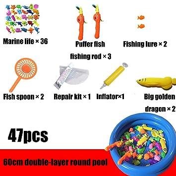 Educación Infantil, Juguetes De Pesca, 69 Piezas, Coloridos ...