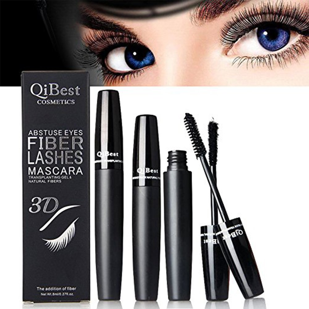7d8acdbe135 3D Fiber Lashes Mascara Waterproof Long Lasting Hypoallergenic Mascara Eyes  Cosmetics by Aoile: Amazon.ca: Beauty