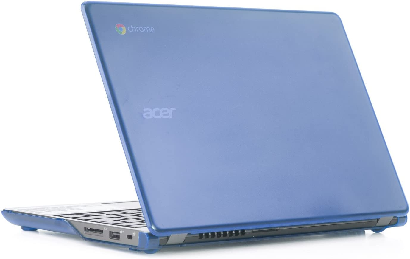 "Blue iPearl mCover Hard Shell Case for 11.6"" Acer C720 C720P C740 Series ChromeBook Laptop (NOT Compatible with Newer 11.6"" Acer Chromebook 11 C730 / CB3-111 / CB3-131 Series Laptop)"
