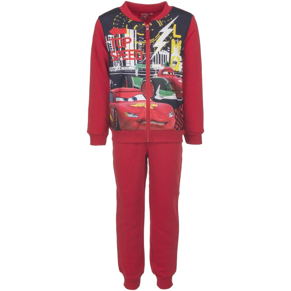 Disney Cars Lightening McQueen Think Fast Tracksuit New 2017-2018