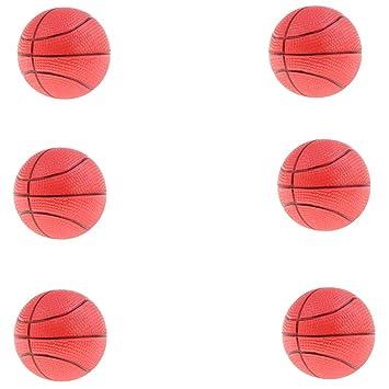 Homyl 6 Unidades Mini Pelotas de Baloncesto Hinchable Bolas ...