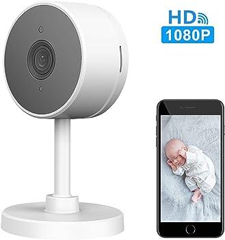 Larkkey 1080p Smart WiFi Home Security Camera / Baby Monitor