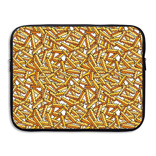 Water-resistant Laptop Bags French Fries Ultrabook Briefcase Sleeve Case Bags 13 Inch