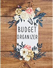 """Budget Organizer: Budget Planner Notebook For Personal Finance Budgeting Book - 8.5""""x11"""" With 126 Pages Budget Organizer Notebook: Budget Planner"""
