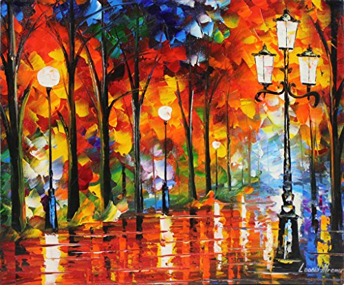Lost Lights is a ONE-OF-A-KIND, ORIGINAL OIL PAINTING ON CANVAS by Leonid AFREMOV …