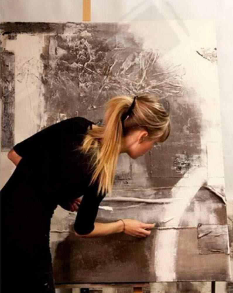 ZLYYH Peinture /À lhuile sur Toile des Photos sans Cadre Poisson des Animaux Peints /À La Main Peinture /À lhuile sur Toile Abstraite Moderne dart Mural Photo De Prix Home Decor,40/×40Cm