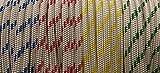 8mm Braid on Braid Polyester Rope Boat yacht Dinghy Halyard Sheet Rigging spinnacker double braid