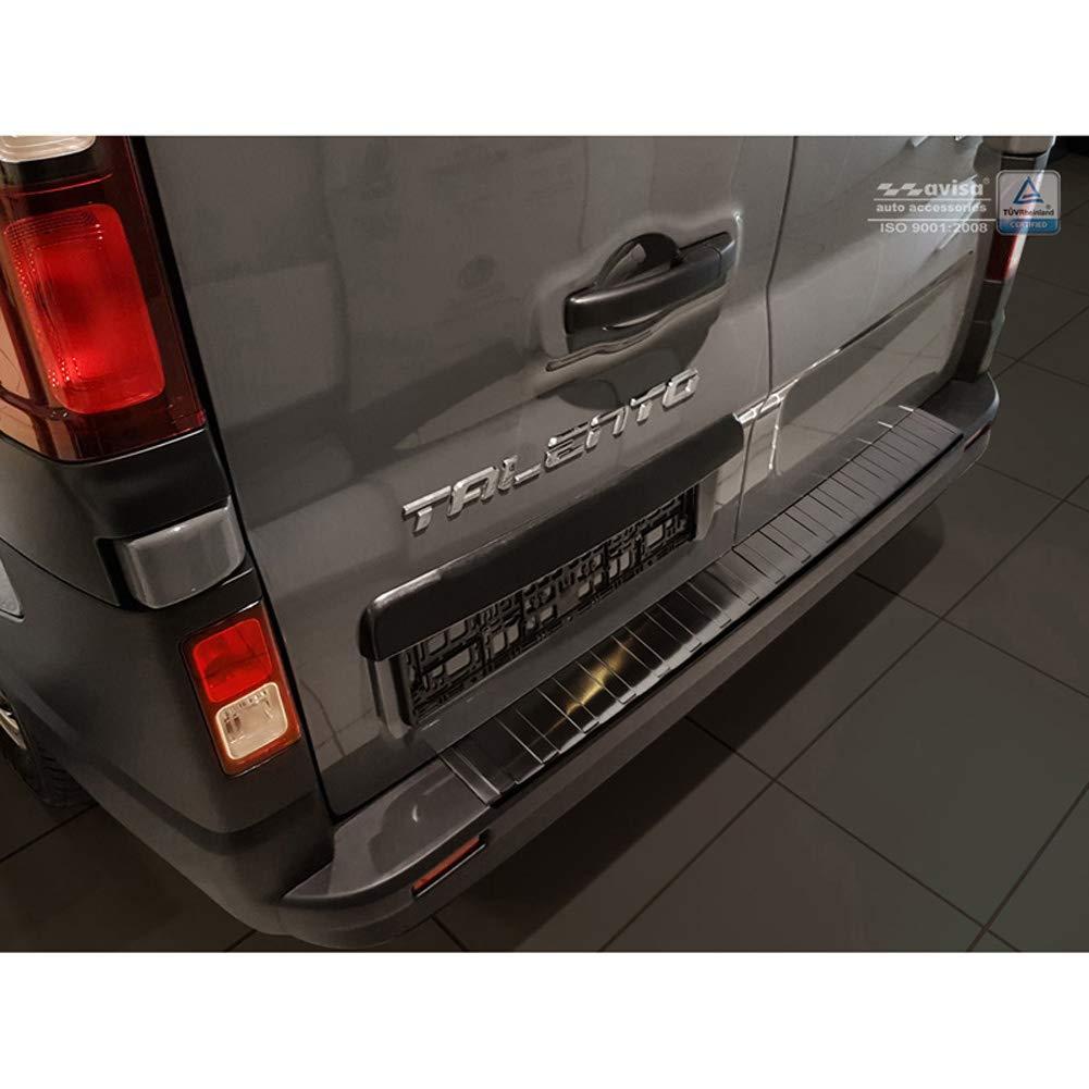 2014+ Chrome Rear Bumper Protector Scratch Guard Fits Trafic//Vivaro