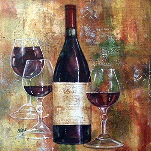 - Napa Valley Pinot Poster Print by Jamie Carter (14 x 14)