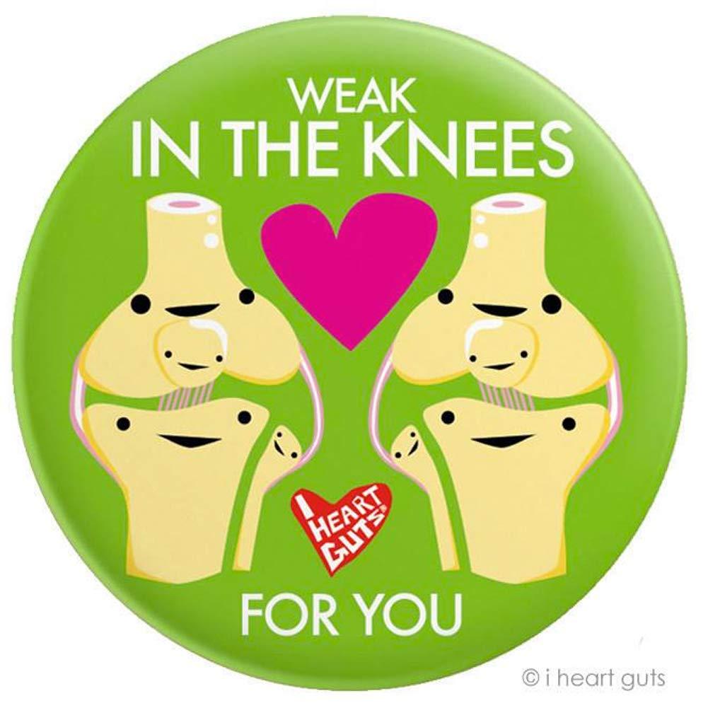 Weak In The Knees! Big Magnet I Heart Guts