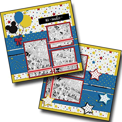 All Smiles - Premade Scrapbook Pages - EZ Layout 3902