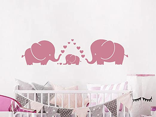 """FIRST WE HAD EACH OTHER Nursery Wall Vinyl Decal 36/"""""""