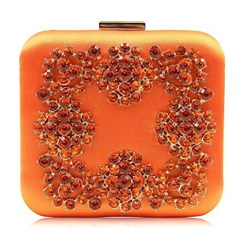 pour De Main Soirée Bourse Orange Lovely De De Pochette Party Sac Soirée Color Orange À Sacs Perle Sac Les Prom Nuit rabbit Mariage Perlée Femmes 7PPZ5wxq