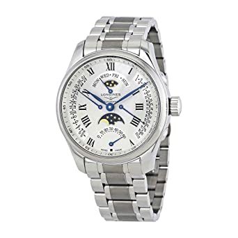 Longines Master Collection para hombre reloj l2.739.4.71.6: Amazon.es: Relojes