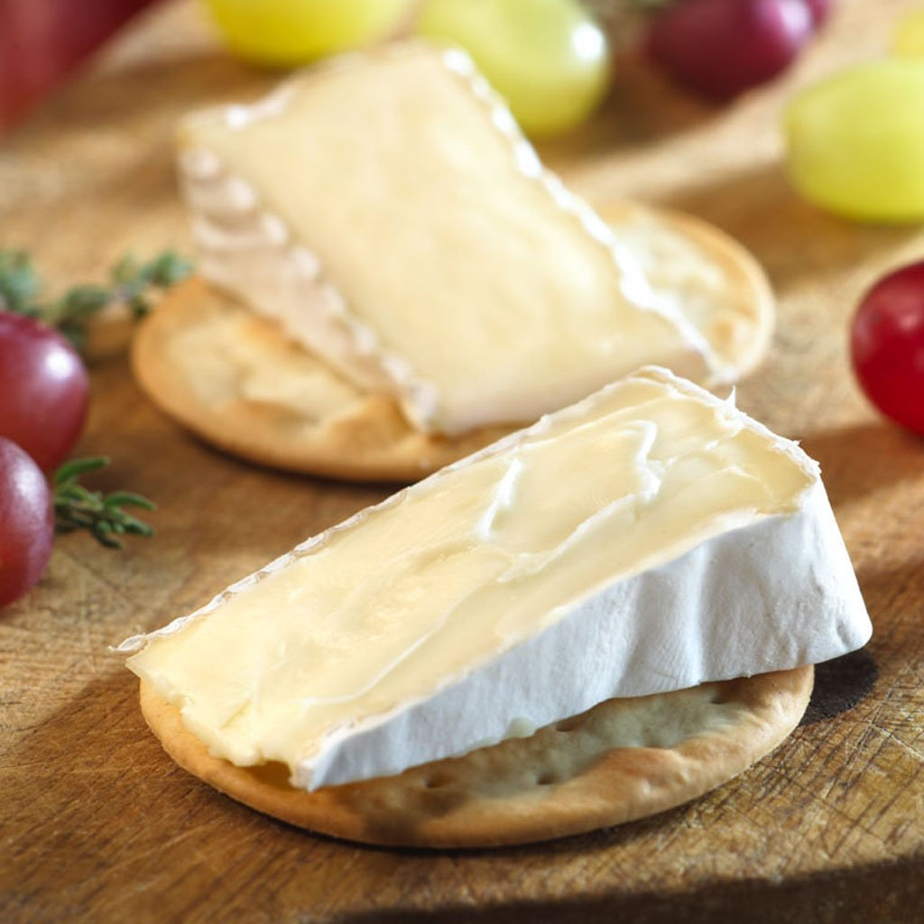 President Wee Brie Spreadable Cheese Wedges, 8 Count