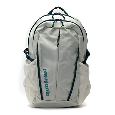 Amazon.com: Patagonia Womens Refugio Backpack 26L Birch White w/Tidal Teal: Sports & Outdoors