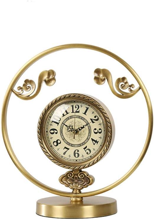 GongDi Reloj de Mesa Cerradura habitación Escritorio decoración ...
