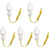 UEETEK 5 Pack ZP4510-P Interruptores de flotador verticales