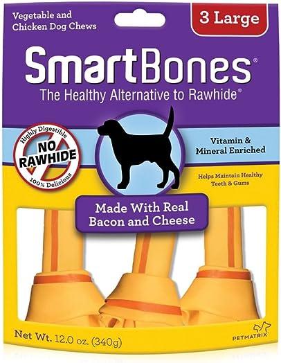 Smartbones Count Bacon Cheese Pet Chew Treats