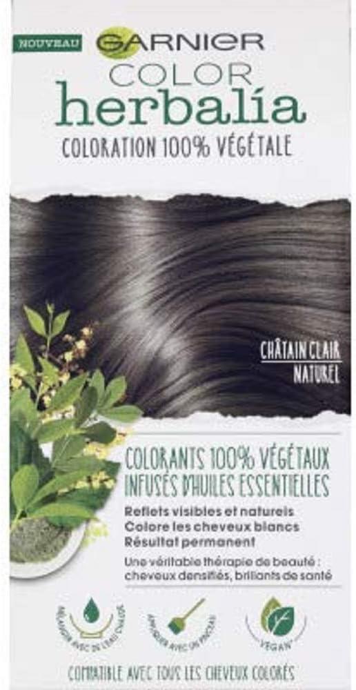 Garnier Color Herbalia - Coloration 100% végétale - Châtain Clair