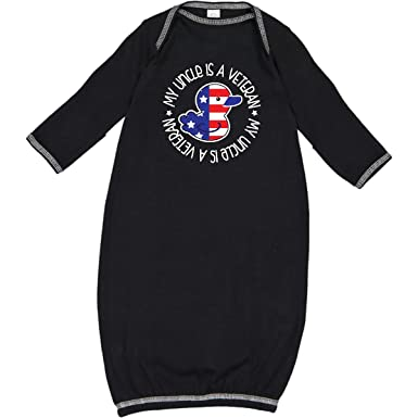 inktastic Uncle Military Veteran Baby T-Shirt